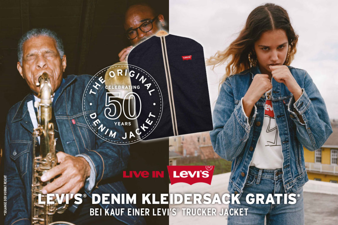LEVIS TRUCKER JACKET AKTION